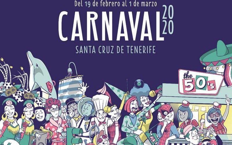 El Carnaval de Javier Nóbrega dejará purpurina en Santa Cruz Cómic 2020
