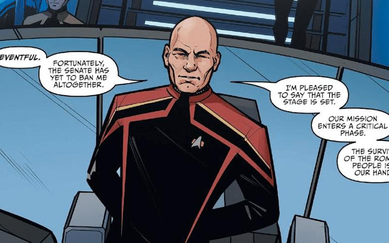 Exposición virtual del capitán Picard de Ángel Hernández