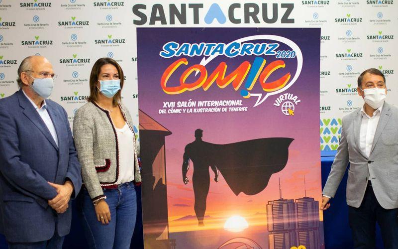 El Ayuntamiento de Santa Cruz de Tenerife acoge la presentación de Santa Cruz Cómic