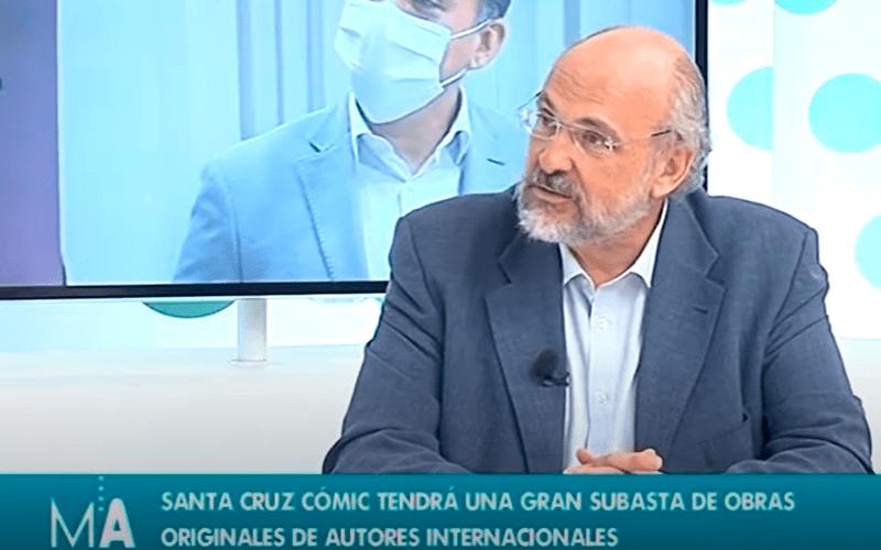Francisco Pomares anuncia que Santa Cruz Cómic contará con 12 exposiciones presenciales
