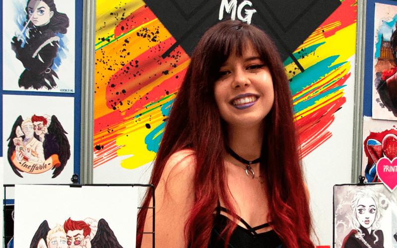 La Cátedra Cultural Moebius estrena 'Encuentros con autoras' con Verónica MG
