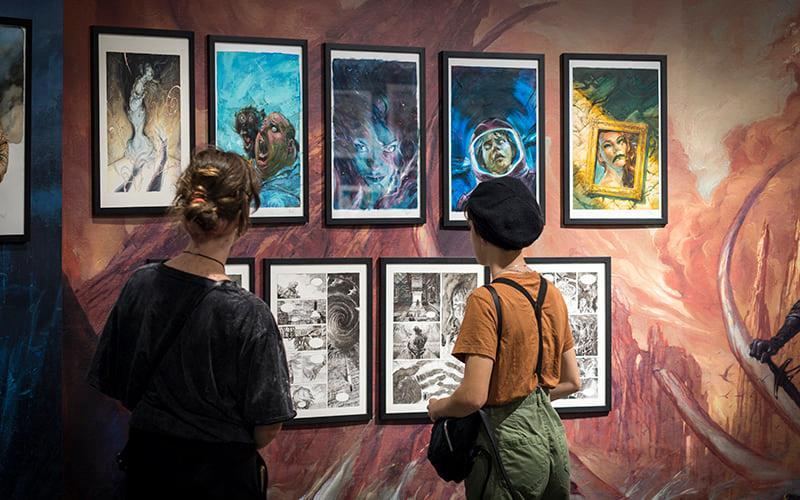 Santa Cruz Cómic 2020 ofrece 12 exposiciones virtuales