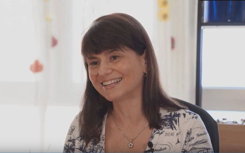 """Sonia Fernández: """"Empecé en esto a los 40 años, tengo 50, y me voy a morir con un lápiz en la mano"""""""