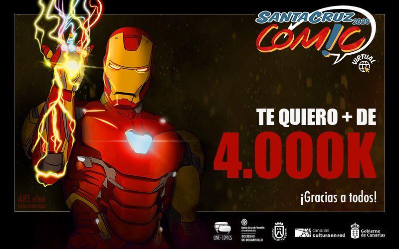 ¡TE QUEREMOS 4.000K!