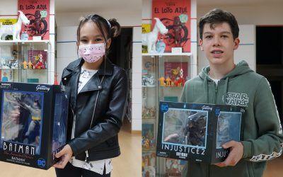 El Salón comienza a entregar los premios del concurso 'Dibuja tu superhéroe'